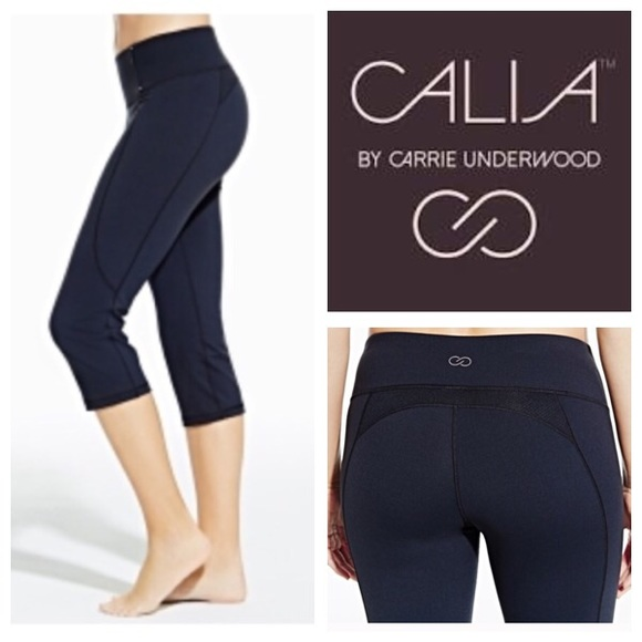 0008a69ee95f9 CALIA by Carrie Underwood Pants - CALIA by Carrie Underwood Cropped Athletic  Pants.